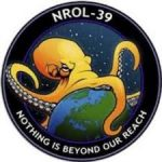 Logo of the NROL-39 satellite of the National Reconnaissance Office.