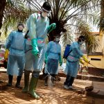 The fight against Ebola in Guinea. Photo by European Commission DG ECHO. https://www.flickr.com/photos/69583224@N05/14655920349/
