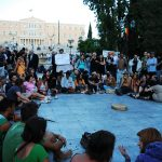 Popular assembly in Syntagma Square, Athens, Greece, May 5, 2012. Photo by Adolfo Indignado Cuartero, http://www.flickr.com/photos/popicinio/