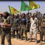 YPG/YPJ Kurdish fighters (left) have allied with FSA forces (right) to fight Islamic State/Daesh.