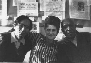 Yoshimasa Yukiyama, translator of the Japanese edition of Marxism and Freedom; Raya Dunayevskaya; and Charles Denby (1969)