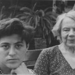 Raya Dunayevskaya and Natalia Trotsky in Mexico, 1938