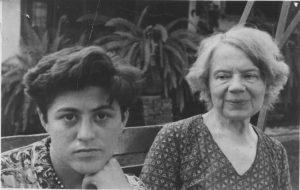 Raya Dunayevskaya and Natalia Sedova Trotsky in Mexico, 1938