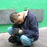 Use of prolonged restraints at Casa Esperanza in Mexico. The picture is from the  Disability Rights International report.