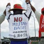 Photo courtesy of Democracy Now, http://www.democracynow.org/2014/1/16/okinawas_revolt_decades_of_rape_environmental