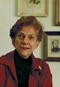 Olga Domanski, 1981. Photo by Michael Pearn.