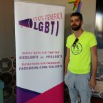 Shams activist. Photo credit: Facebook: Shams - Pour la dépénalisation de l'homosexualité en Tunisie