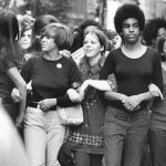 Part of the historic August 26, 1970, Women's Strike for Equality.