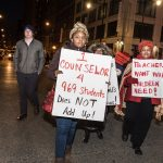 Feb. 4 Chicago Teachers Union rally downtown for a fair contract. Photo credit: sarah-ji, flickr.com/photos/sierraromeo/24918727256/