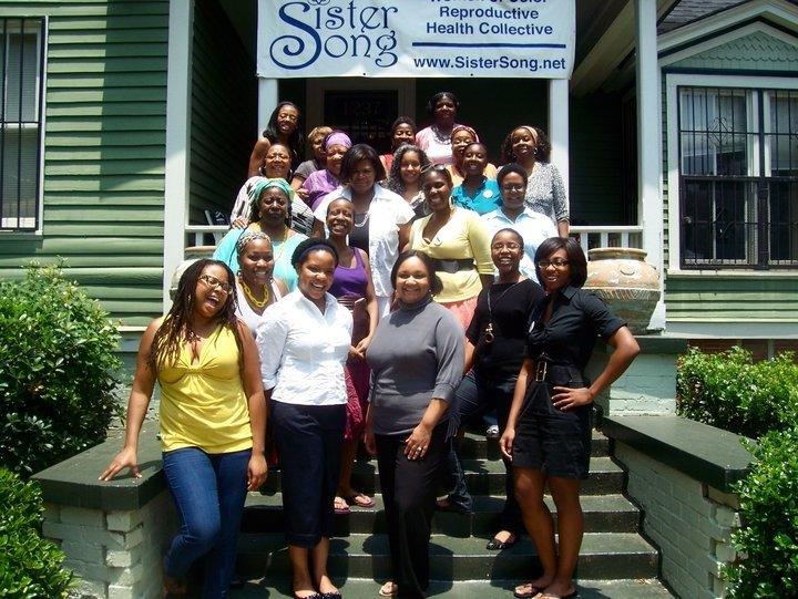 Women assembled at SisterSong in 2010 to conceive what was to become Trust Black Women. Photo: Trust Black Women