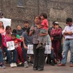 A public presentation at Plaza de las Tres Culturas in Tlatelolco on July 31, 2016, by the families of the students killed by the Mexican government in Nochixtlán.