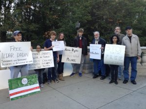 Vigil in Chicago against the torture of Ildar Dadin