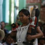 María de Jesús Patricio, spokeswoman of the Indigenous Governing Council (Photo: Radio Zapatista)