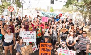 Support to Folsom Hunger Strike (https://itsgoingdown.org/folsom-hunger-strike-solidarity-rally-reportback/)