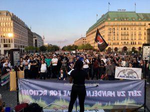 Berlin stands @ Chaarlottesville. Photo: Michael Mayer