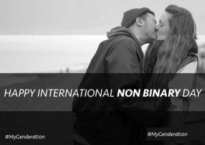 non-binary day B&W