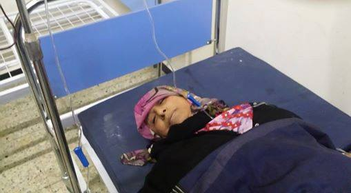 Hospital in Taiz. Photo by Yemeni activists for News and Letters Committees.