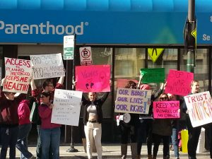 Planned Parenthood demo 1