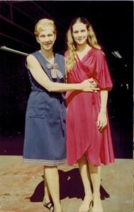 Olga Domanski and Erica Rae, 1979.