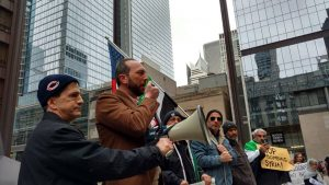 Syria Demo in Chicago