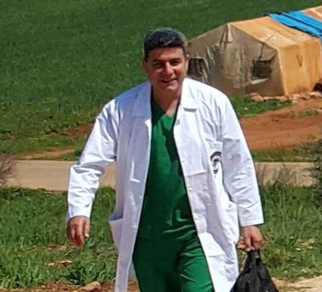 "Dr. Hasan al-Araj. ""The last cardiologist in Hama was killed by airstrikes today. Dr. Hasan al-Araj ran the Syrian American Medical Society Cave Hospital. Does anyone who isn't Syrian even understand how phrases like 'the last cardiologist' or 'cave hospital' are normal in 2016?"" —Lina Sergie Attar"