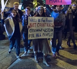 Protest in Louisville, Kentucky, Nov. 10, 2016. Approximately 1,000 people participated. Photo by Gregg Bekke flickr.com/photos/gdbrekke/30278724284/