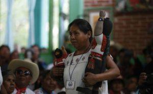 María de Jesús Patricio, spokeswoman of the Indigenous Governing Council (Photo: Radio Zapatista)